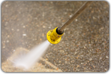 pressure washing and power washing